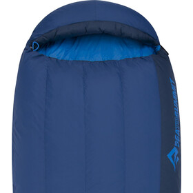 Sea to Summit Trek TkII Sac de couchage Regular, denim/navy